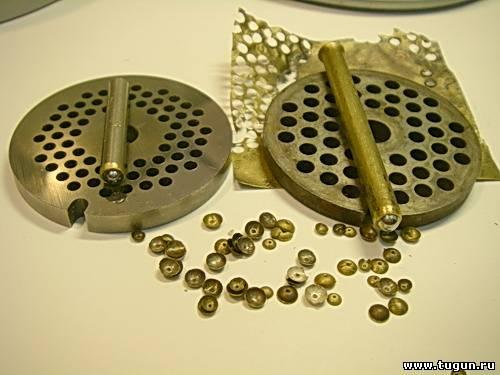 изготовление рыболовных мормышек напайка штамп