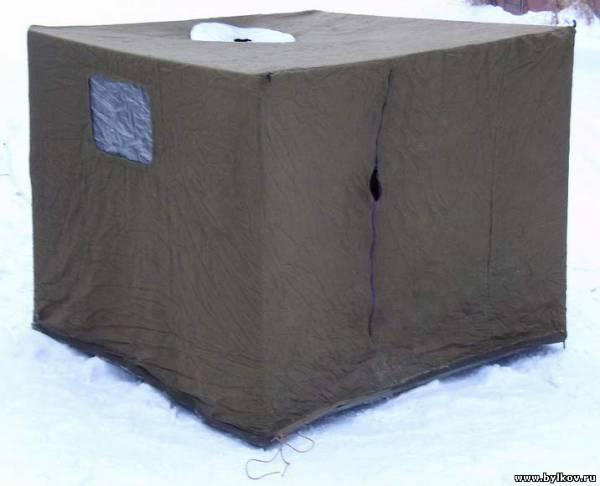 Как сделать своими руками зимний палатку